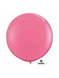 """Qualatex 36"""" Round Latex Balloons (White) - 2 pack"""
