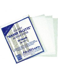 Masterson Sta-Wet Handy Palette pack of 30 handy palette acrylic paper 8 1/2 in. x 7 in.