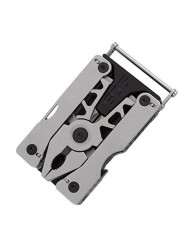 SOG Sync II Multi-Tool | Wearable Belt Buckle/Clippable Base, 11 Tools (SN1011)