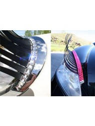 The Official Car Lashes(TM) - Authorized Car Lashes(TM) Seller - No Knockoffs - Chrome