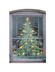 Ohio Wholesale Glistening Pines Canvas Radiance Lighted Wall Art