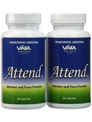 Attend By Vaxa - 60 Capsules (Pack of 2)
