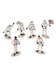 Plastic Astronaut Toy Figurines - One Dozen