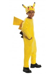 Pokemon Deluxe Pikachu Costume - Child's Large