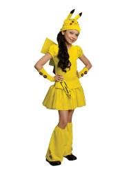Rubie's Costumes Pokemon Pikachu Costume - Girl's Small