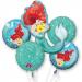 Disney Little Mermaid Foil Balloon, Pack of 5