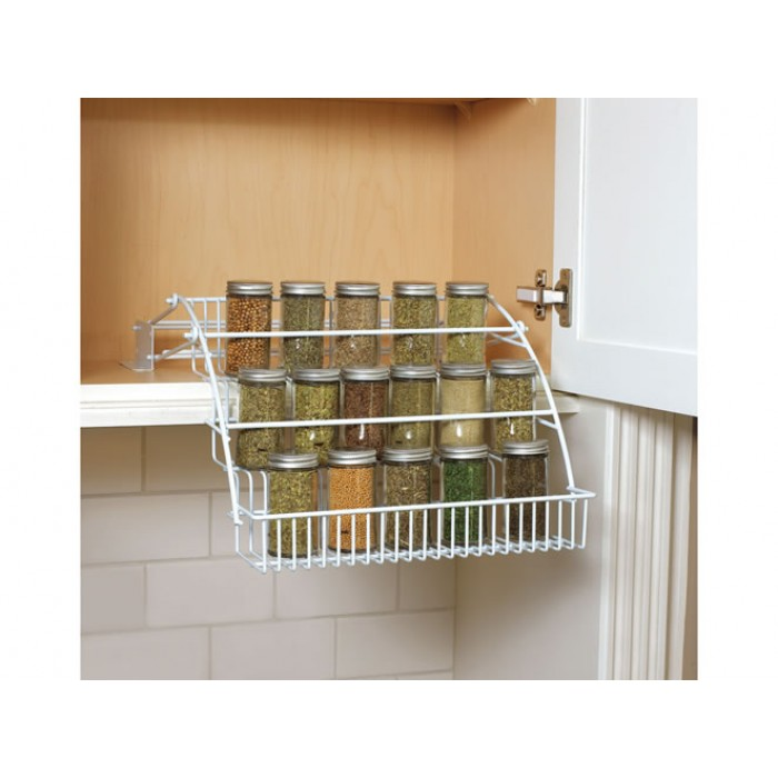 geekshive rubbermaid pull spice rack black spice