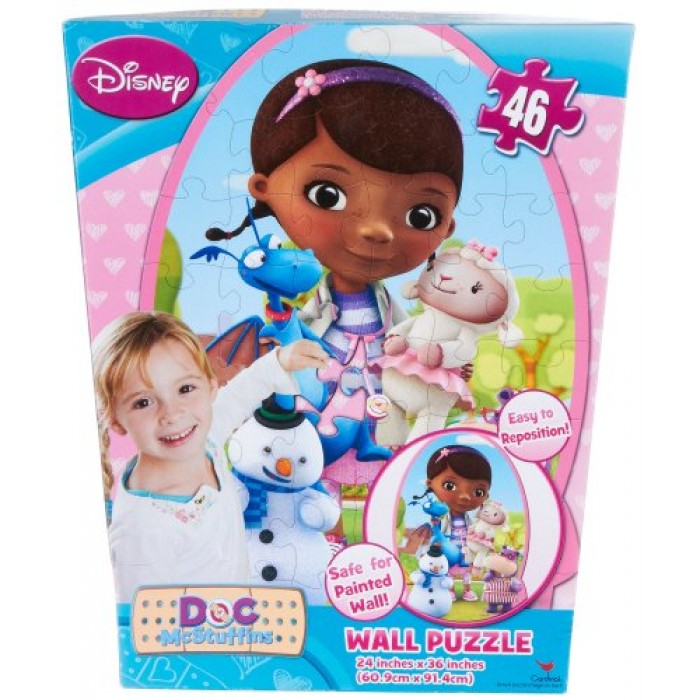 Disney The Doc Is In 4 Piece Doc Mcstuffins Toddler: GeeksHive: Disney Doc McStuffins 46 Piece Repositionable