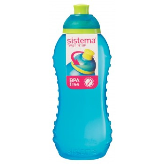 geekshive sistema twister bottle 330ml assorted colours