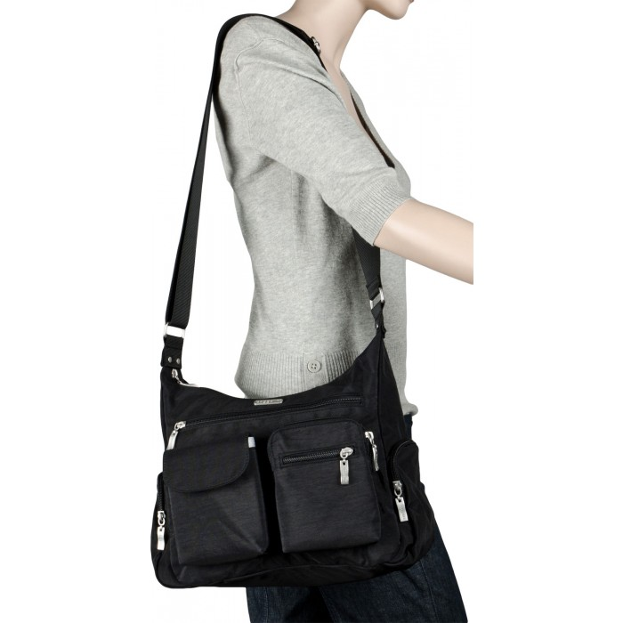 GeeksHive  Baggallini Everywhere Bagg - Black With Sand Lining ... a81b064bd8daf