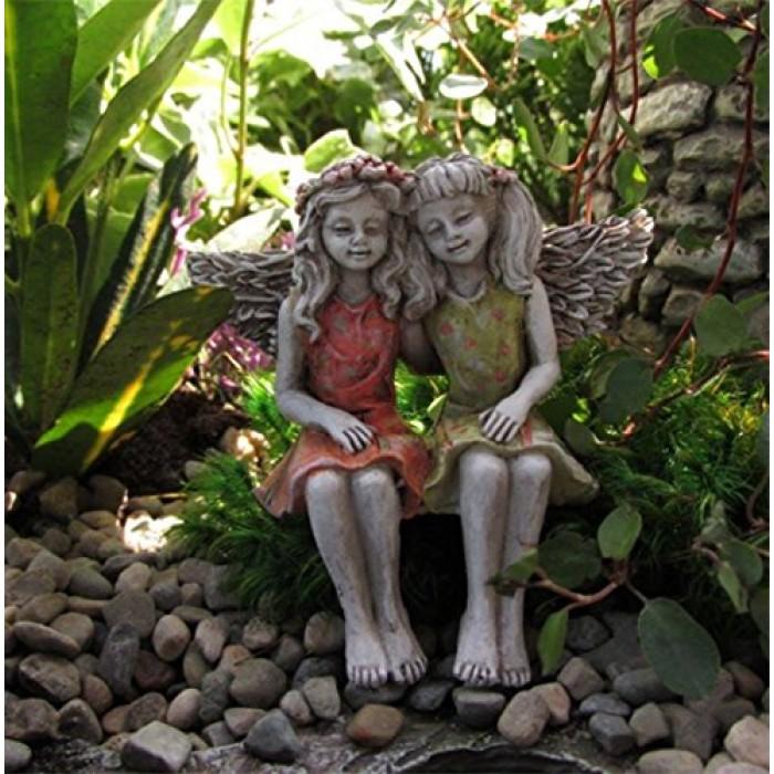 Garden Statues Fairies: GeeksHive: Miniature Fairy Garden Best Friends