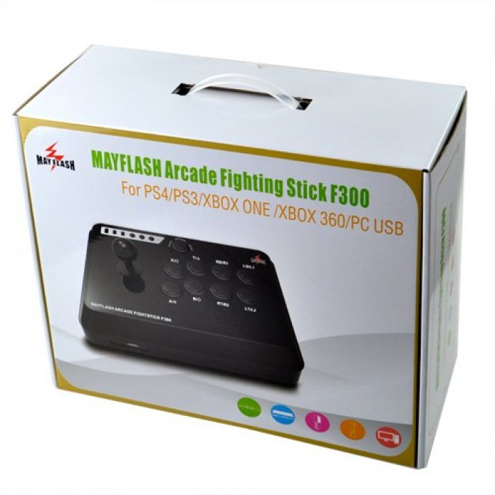 GeeksHive: F300 Mayflash Arcade Fight Stick Joystick for PS4 PS3 XBOX ONE  360 PC - Joysticks - Controllers - Accessories - Xbox One - Video Games