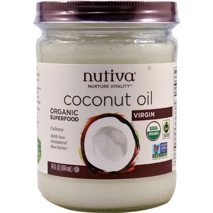 GeeksHive: Nutiva Organic Virgin Coconut Oil - 14 Oz ...