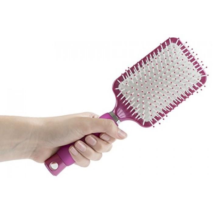 Geekshive Conair Gel Grips Hair Brush Soft Gel Handle