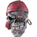 Rubie's Costumes Rubies Skull Pirate Mask - One Size