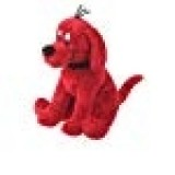 """Douglas Toys Clifford Small Sitting,red,8"""""""