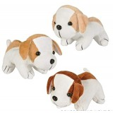 "Rhode Island Novelty 6"" Assorted Adorable Plush Puppy Dogs 