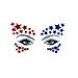Neva Nude Americana Crystal BodiStix In Your Face Edition Sticker