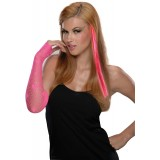Rubie's Costumes - Neon Pink Hair Extension