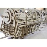 Ugears 3D Model Steam Locomotive with Tender