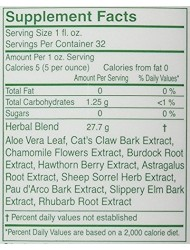 Herbal Answers Herbal Aloe Force Aloe Vera and Herbal Dietary Supplement, 32 fl oz