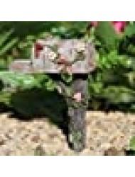 Miniature Fairy Garden Country Mailbox