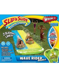 Wham-o Slip N Slide Wave Rider Double With 2 Slide Boogies - 64120